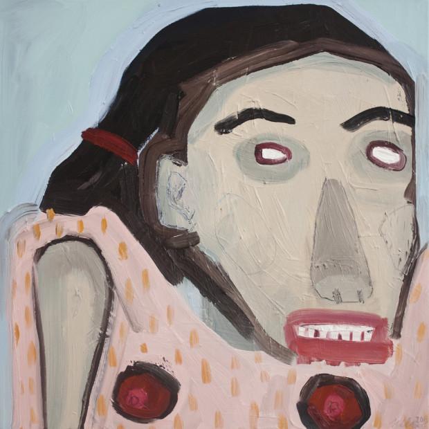 Karlien de Villiers_Everybody Else's Girl_2013_Oil on Cnvas_61 x 60.5 cm